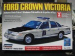 1/25 Alabama State Patrol / FORD CROWN VICTORIA (Lindberg) (25700 views)