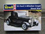 1/25 '32 Ford 3-Window Coupe Street Rod (Revell-Monogram) (21540 views)