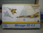 1/48 Mirage III CJ (eduard) (39159 views)