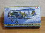 1/48 FAIREY SWORDFISH Mk.I [Clear Edition] (TAMIYA) (24745 views)